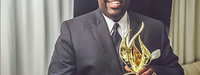 William McDowell Celebrates 2015 Stellar Award Win